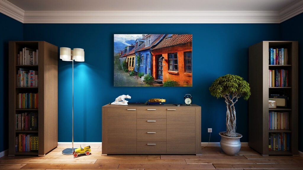 Comment donner de l'allure à un mur avec de la décoration murale ?