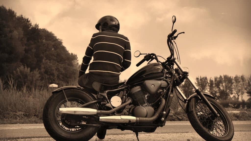 Déplacement et ballade en moto